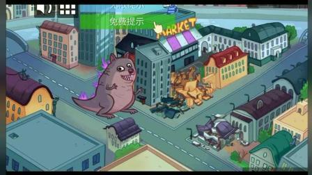 胖虎解谜: 疯狂恶龙毁坏城市, 胖虎变身超级英雄该如何拯救?