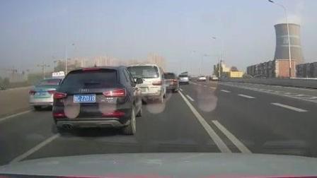 """记录仪: 路上开车最怕遇到这样""""恶心""""的人, 差点酿成大祸!"""