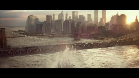 万磁王的能力很强大, 瞬间城市都毁灭了