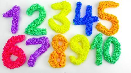 学习数字和颜色英语为孩子们 幼儿用英语学习英语 孩子们的视频 婴儿教育频