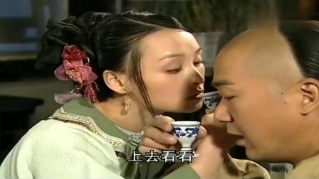 铁齿铜牙纪晓岚 纪昀与张了了正欲喝交杯酒 杜小月和杏儿却回来了