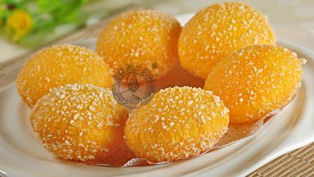 软糯香甜的南瓜饼怎么做才好吃, 南瓜饼制作教程!
