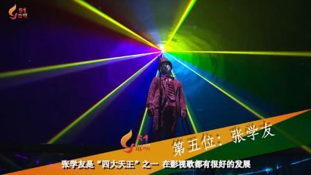 乐坛最牛的5位殿堂级歌手, , 张国荣第二, 张学友垫底