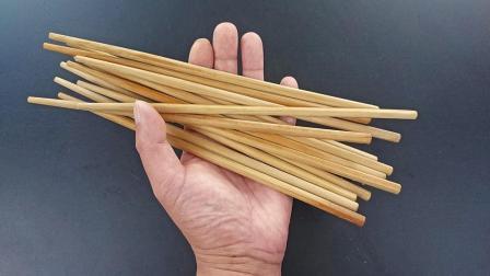 旧筷子别扔了, 绑根绳子放阳台, 一年省下不少钱, 方法太棒了