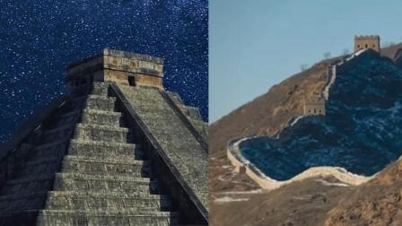 埃及金字塔VS中国长城, 到底谁更难建造看完后, 我终于明白了