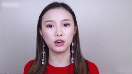 美妆博主画了一个欧美妆,和素颜一对比,化妆对女人太重要!