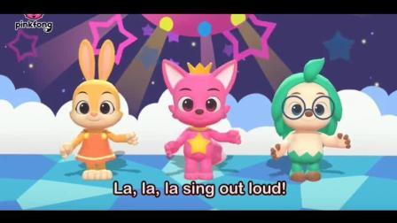 让我们一起唱歌一起跳舞 早教英语儿歌 碰碰狐儿歌