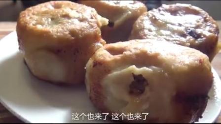 最夯游记:北京地道小吃,肉饼配粥,再来盘爆肚腐竹,圆满了!