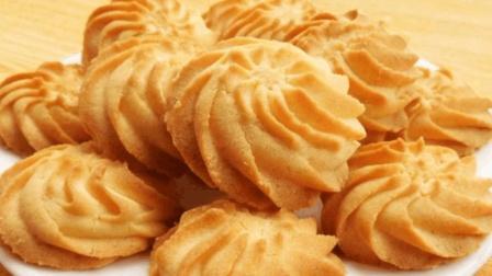 手把手教你做曲奇饼干, 方法简单, 奶香十足, 美味酥松, 太好吃了