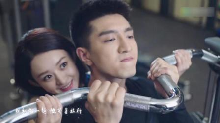 """电视剧女王回归! 赵丽颖新剧登顶男主爆火, """"仰卧起吻""""甜人!"""