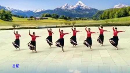 这样的藏族舞看完让人神清气爽《迎酒欢歌》好看