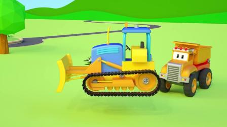 小汽车儿童动画英文儿歌幼儿教育系列《十三》