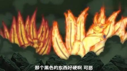 火影忍者: 六道模式的带土, 硬抗两个九尾的最强力量, 还一点事都没有?