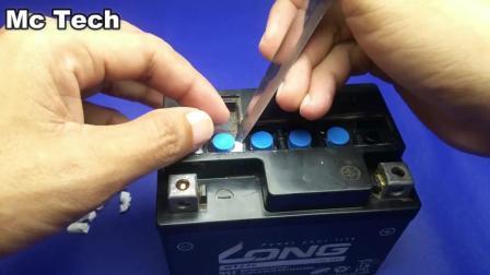 如何修复干涸电池、铅酸蓄电池修复, 新思路
