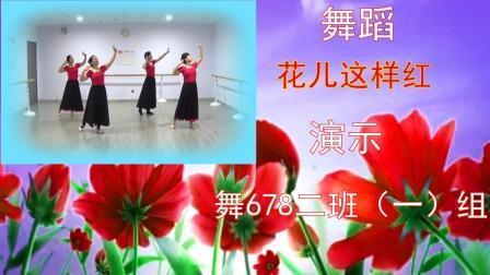 舞678舞蹈培训中心作品《花儿这样红》