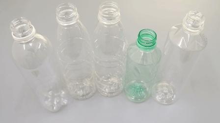 5个塑料瓶粘贴成圆形, 放在阳台上, 太棒了