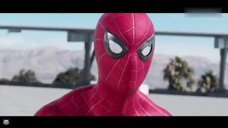 小蜘蛛、钢铁蜘蛛、黑衣蜘蛛大混战, 连远征蜘蛛侠也来了?