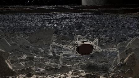 NASA设计概念星际着陆器外形酷似蜘蛛