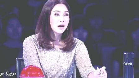 泰国达人秀, 一女孩模仿阿姆Eminem惊艳全场, 超好看的小姐姐