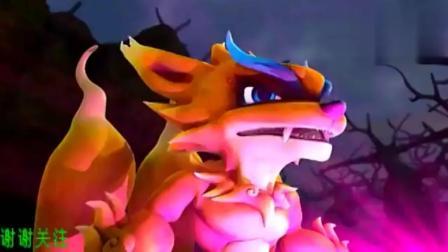 猪猪侠之终极决战: 闪电龙被魔王找到了, 他真的有那么厉害吗