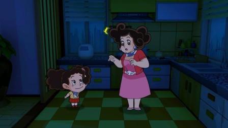 棉花糖和云朵妈妈:棉花糖和云朵妈妈晚上不睡觉,原来肚子饿了!