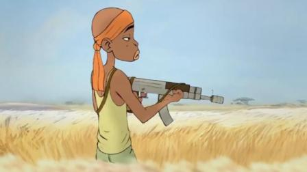脑洞幽默动画,沙漠遇狮子王带着枪都怂到腿软了!