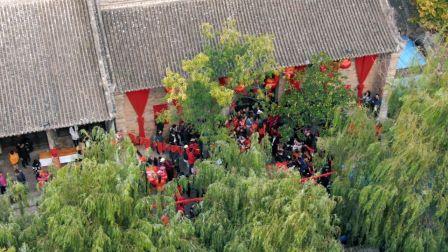 """这也许是迄今为止最有""""中国味儿""""的婚礼——关中风俗传统婚礼——ROYFILM出品"""
