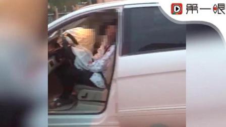 突发! 济南一奔驰女司机闹市连撞多车, 一人当场死亡