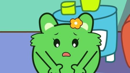 咕力咕力丫米果: 我饿了 咕力的孩子饿了也不能吃玩具