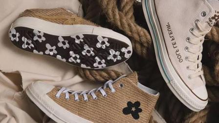 匡威最新联名鞋款, 最会玩颜色的男人, 这次不玩了?