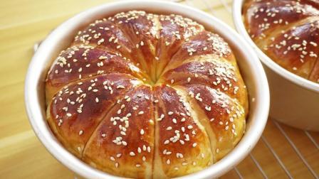 最简单的烘焙入门配方, 超软的牛奶面包做法, 看了就能做
