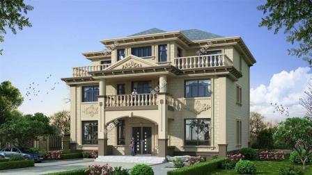 房价高, 买房难, 不如回村建楼房, 看这里! 农村三层别墅帮你忙!