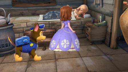 熊出没光头强睡懒觉, 汪汪队阿奇与小公主苏菲亚叫醒光头强