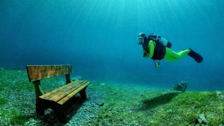 """全球最""""任性""""的公园, 每年进入夏季, 一言不合便沉入湖底了!"""