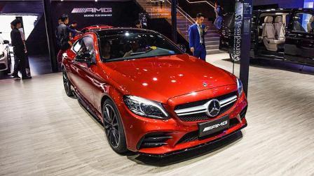 【2018广州车展】售价64.88万 AMG C43 Coupe首次进入中国