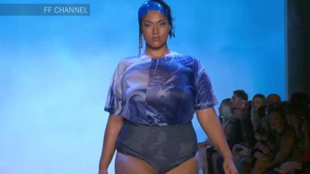 Chromat巴黎春夏泳装秀, 大码超模的美, 你能解读吗?