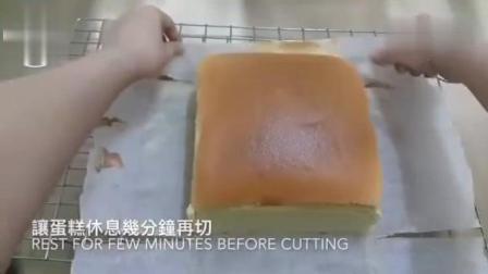【原味古早味蛋糕做法】简单的材料, 比想像中还要简单的做法。