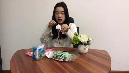 小姐姐试吃蔓越莓干, 酸酸甜甜真好吃, 重点还很划算