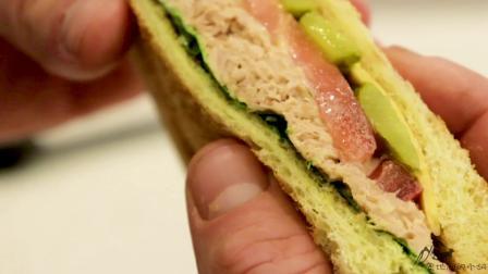 懒人早餐? ! 教你五分钟就能做好的吞拿鱼三明治