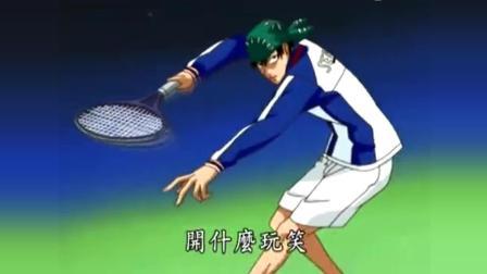 网球王子全国大赛篇, 出现了, 海堂学长的龙卷蛇球!