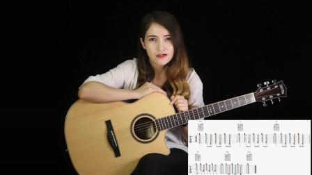 第九课, 学习扫弦、常见民谣节奏型 - 英尼特 零基础免费 入门吉他新手课程
