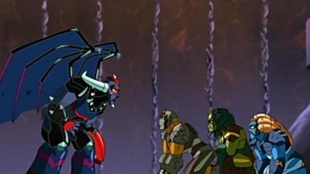 超级高米迪终于找到黑煞, 元素能量完全不起作用, 危险!