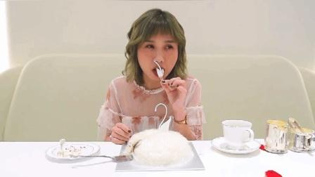 探店成都最贵蛋糕 200万的吃货少女心