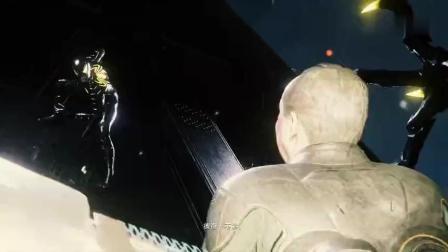 蜘蛛侠的黑色铠甲一样挡不住博士的利爪, 血溅四方