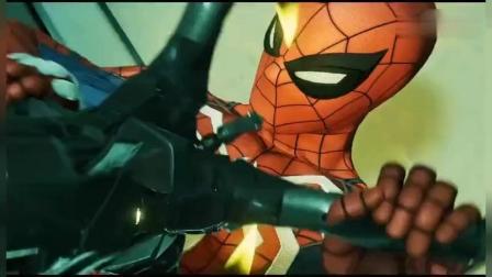 蜘蛛侠打败了底片先生, 没想到却来了个大boss