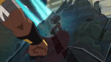 蜘蛛侠被绿巨人吓懵了! 蜘蛛侠: 大哥我是你的小兄弟啊!