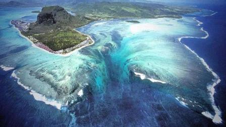 世界上最怪异的景观, 瀑布竟隐藏在海底下, 每秒倾泻50亿吨海水