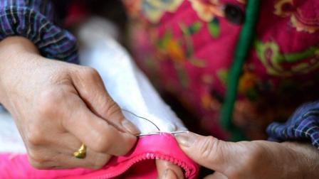 衣服开线不会缝怎么办? 手把手教你机械锁边法, 既简单又牢固