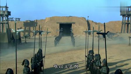 《三国》曹操想出妙计, 在周围全是沙土的环境下, 也能筑起一座城墙!