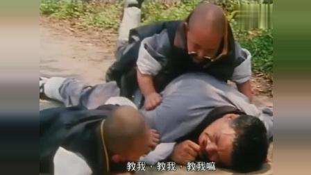 吴孟达带郝邵文释小龙下山化缘, 遇到郑少秋正在拍电影, 笑抽了!